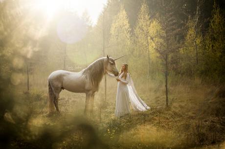 She found her unicorn