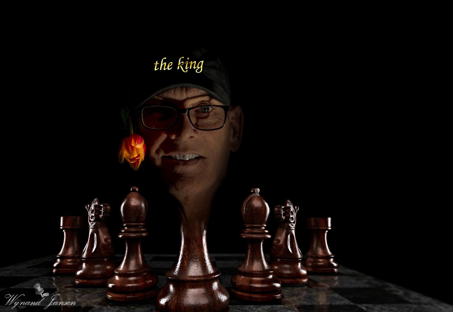 Checkmate - Verder kom ik niet? - foto door artmen op 15-04-2021 - deze foto bevat: oogzorg, kunst, schaakbord, pret, binnenspellen en sport, evenement, speelgoed, duisternis, schaak, baseball pet