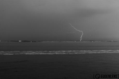 magische kracht van de bliksem