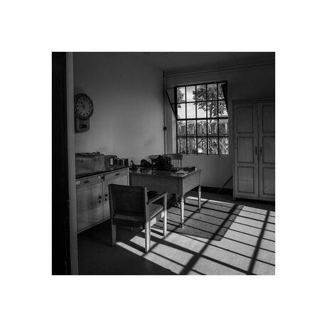 Het kantoor van de depot chef