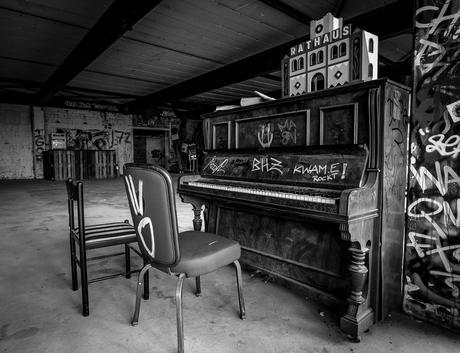 Piano NSA Field Station Berlin