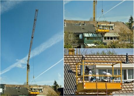 Vervangen asbest dakbedekking op 22 April 2021