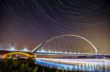 Startrail Nijmegen