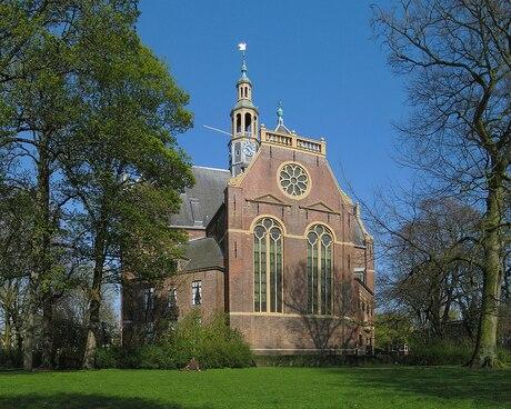 Nederland Groningen nieuwe kerk