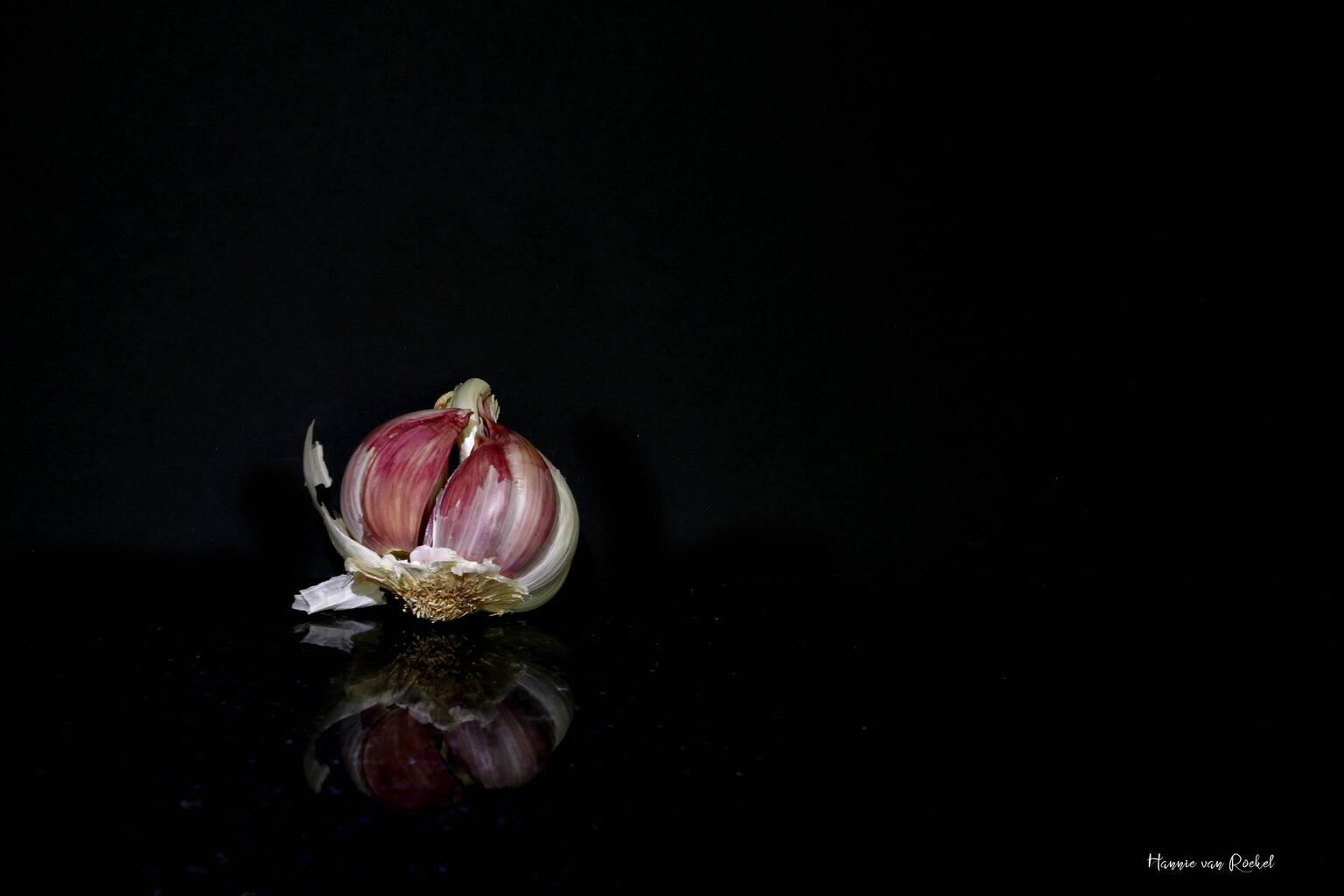 reflectie - zachte reflectie  - foto door crazydiamond op 09-04-2021 - deze foto bevat: reflectie, food, bloem, fabriek, bloemblaadje, flitsfotografie, terrestrische plant, bloeiende plant, waterplant, kunst, duisternis, macrofotografie