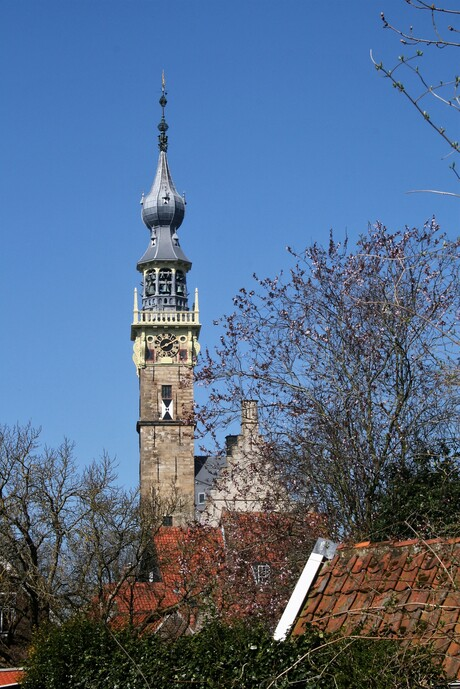 Toren stadhuis Veere