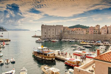 Dubrovnik de oude haven
