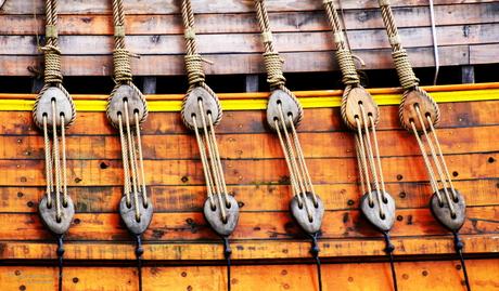 tuigage oud zeilschip