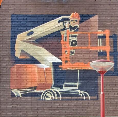 muurschildering 10