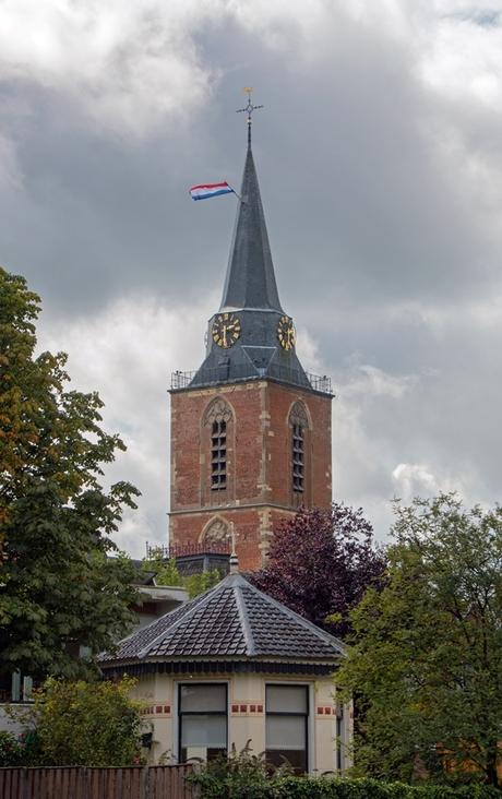 Zicht op de kerk