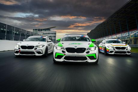 BMW M2 CS Cup machines