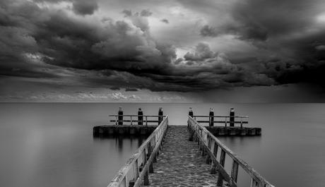 Zwarte wolken