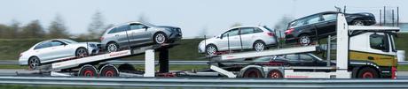 Transport van personenauto's